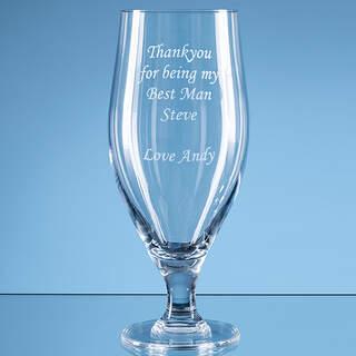 0.38ltr Stelara Beer Glass