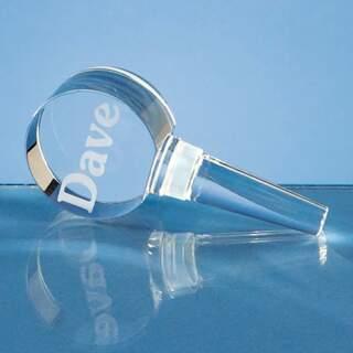 10cm Optical Crystal Bottle Stopper