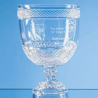 27cm Lead Crystal Footed Presentation Bowl