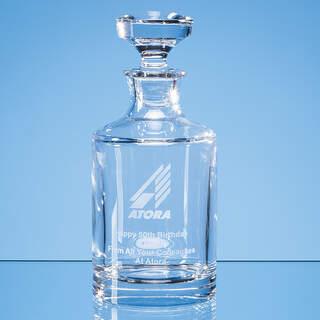 0.5ltr Lead Crystal Boris Spirit Decanter